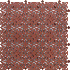 Art. No,: 110BR20 - Bergo Brick – red